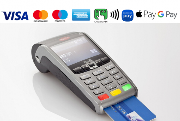 credit card machine charges