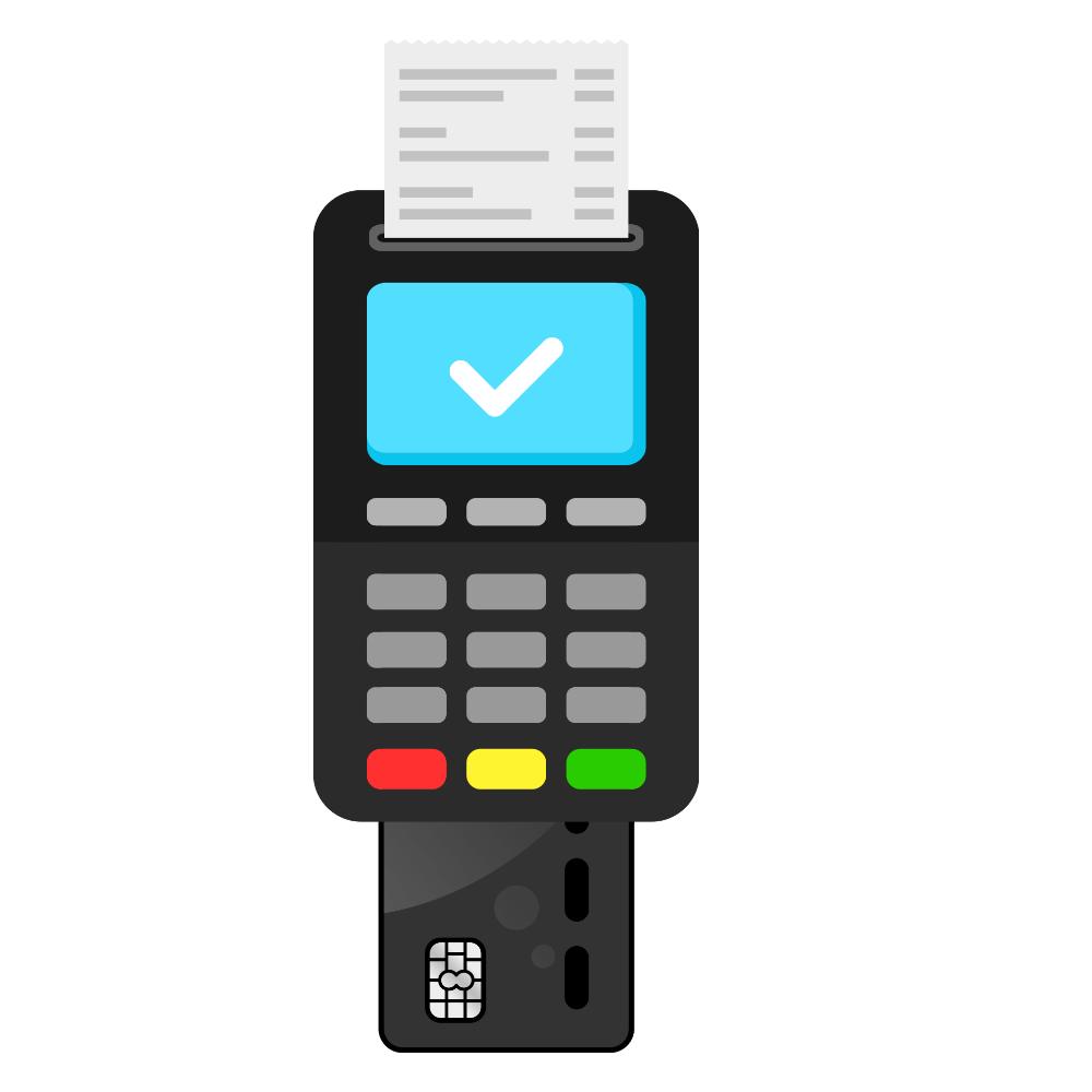credit card machine function